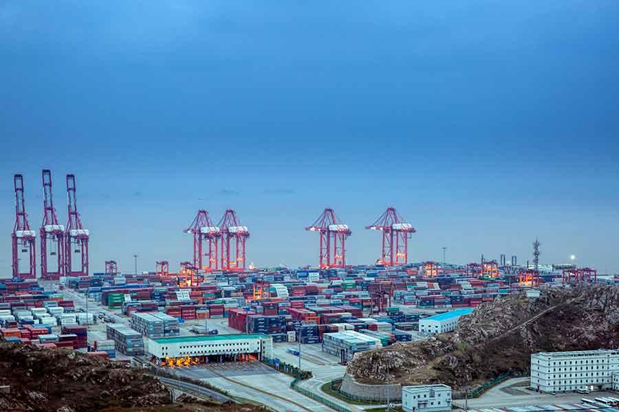 2021年1月份洋山港集装箱吞吐量再创历史新高